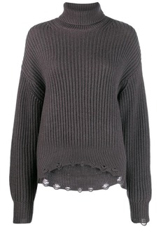 IRO knitted ribbed jumper
