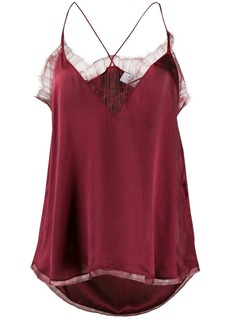 IRO lace-trimmed camisole