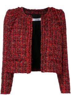 IRO lamé tweed jacket