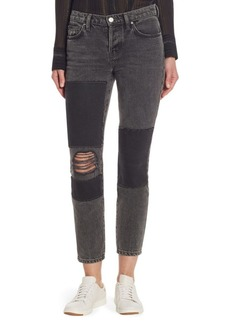 IRO Lep Patched Distressed Jeans