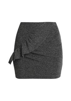 IRO Lisko Shiny Mini Skirt
