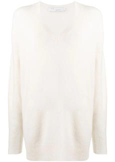 IRO loose-fit v-neck sweater