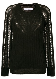 IRO loose knit sheer sweater