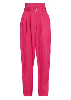 IRO Margate Pleated Paperbag Trousers