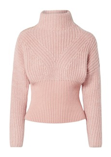 IRO Medford Ribbed Cotton-blend Turtleneck Sweater