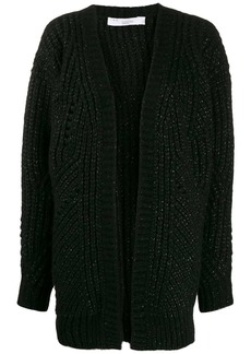 IRO metallic knit cardigan