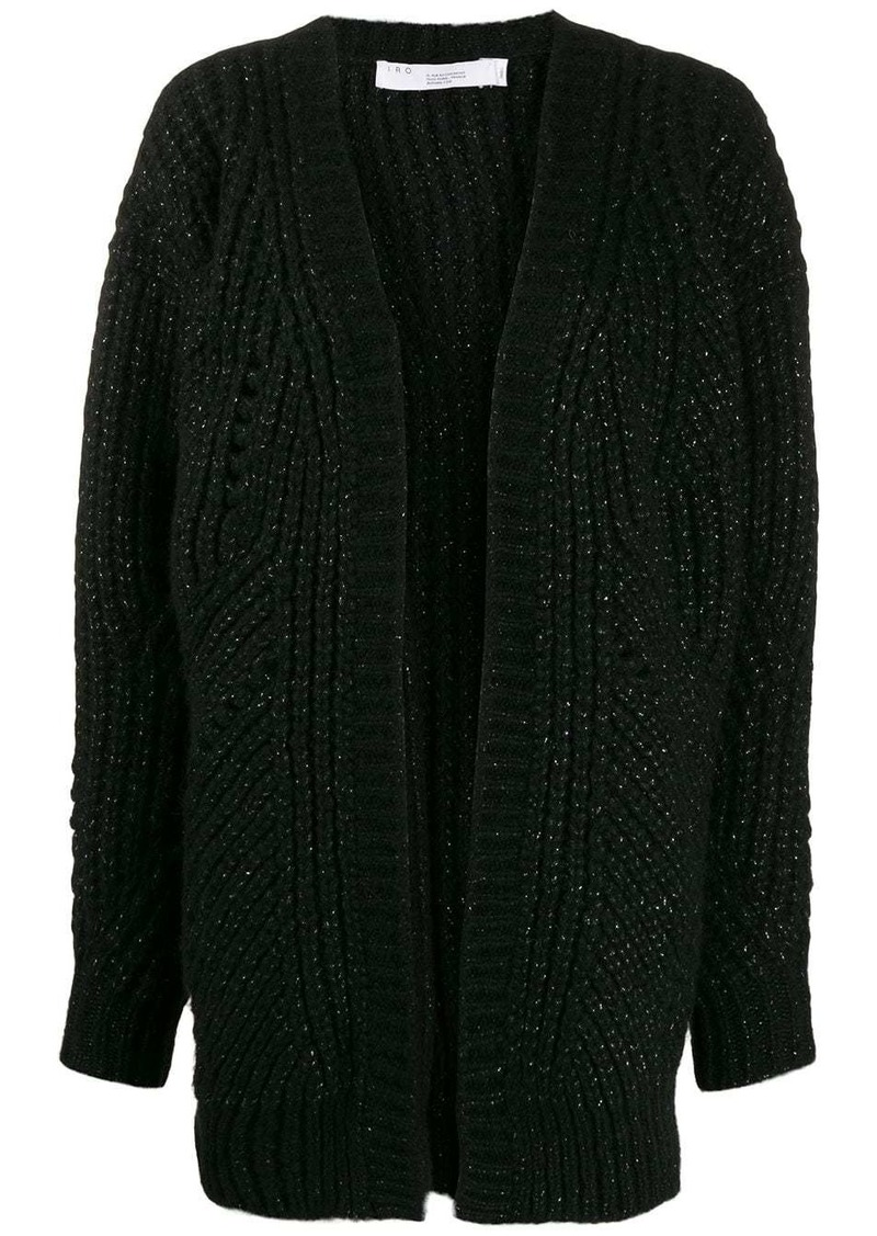 IRO metallic knit cardigan