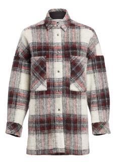 IRO Minsky Plaid Jacket