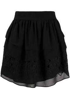 IRO Mugue tiered ruffle skirt