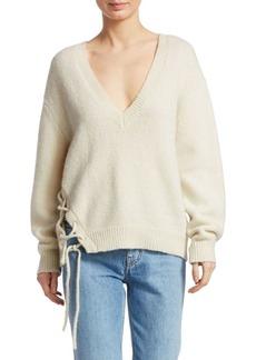 IRO Mylo Lace-Up Sweater