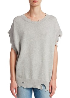 IRO Nomisa Destroyed Hem Sweater