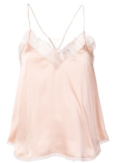 IRO nude pink camisole top