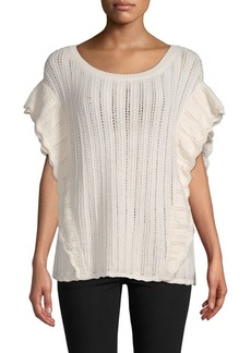 IRO Open Knit Top