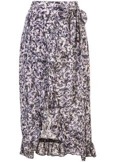 IRO Palmer wrap skirt