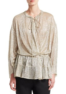 IRO Panoramic Metallic Top