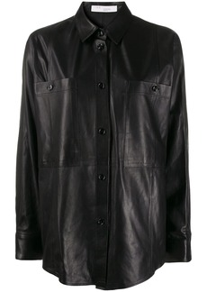 IRO Peters leather shirt