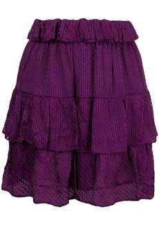 IRO ruffled mini skirt