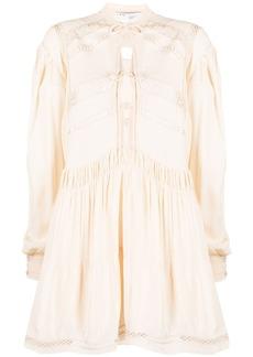 IRO Pluton ruffled shirt dress