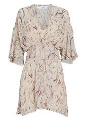 IRO Pommie Silk Mini Dress