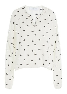 IRO Printed Blouse