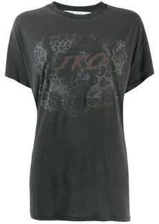 IRO printed loose fit T-shirt