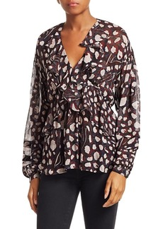 IRO Realize Print Blouse