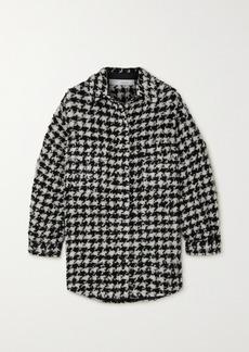 IRO Restrain Houndstooth Tweed Shirt