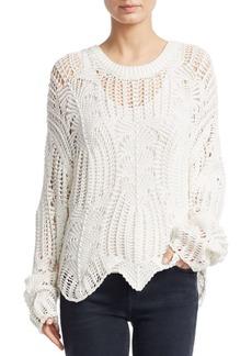 IRO Rhapsody Open Weave Sweater