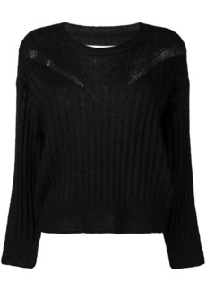 IRO ribbed distressed sweater