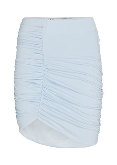 IRO Rollas Ruched Knit Mini Skirt