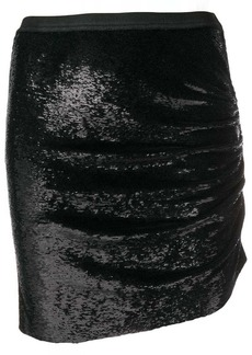 IRO sequinned mini skirt
