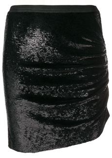 IRO sequinned mini skirt