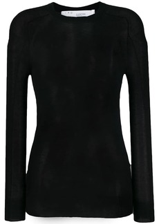 IRO sheer cashmere top