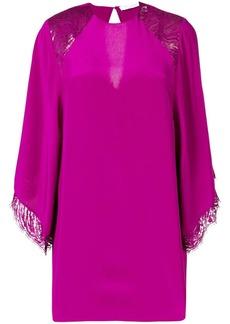 IRO silk trim shift dress