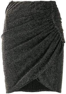 IRO Tacite striped mini skirt