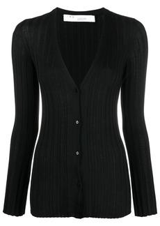 IRO V-neck silk cardigan