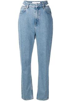 IRO waist cut-out jeans
