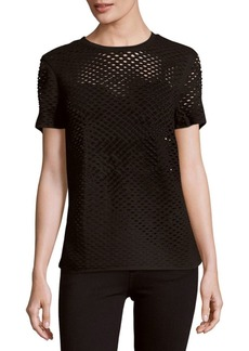 IRO Zana Cotton Perforated Top