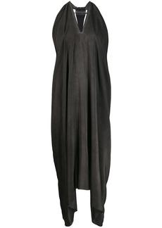 Isaac Mizrahi Indecente draped asymmetric dress