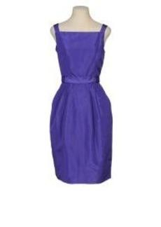 ISAAC MIZRAHI - 3/4 length dress