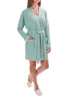 Isaac Mizrahi Front Pocket Robe - Long Sleeve (For Women)