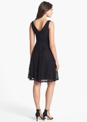 Isaac Mizrahi New York Surplice Fit & Flare Dress