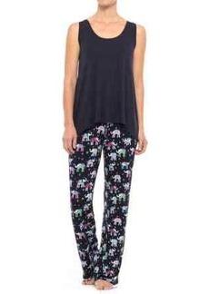 Isaac Mizrahi Swing Tank Top and Pants Pajamas (For Women)