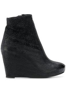 Isaac Mizrahi Mirelle wedge ankle boots