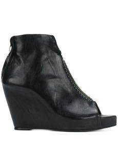 Isaac Mizrahi open toe boots
