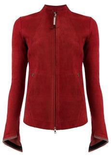 Isaac Mizrahi stretch effect jacket