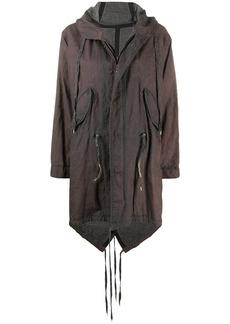 Isaac Mizrahi tie fastening coat