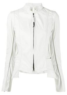 Isaac Mizrahi zip-front jacket