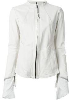Isaac Mizrahi zip jacket