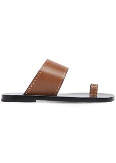 Isabel Marant 10mm Jeppya Leather Sandals